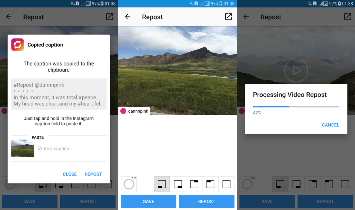 Best Instagram Repost Apps for Android