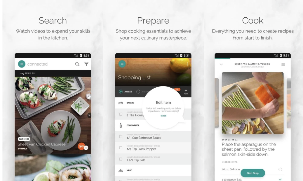 Best Cooking and Recipe apps for Android