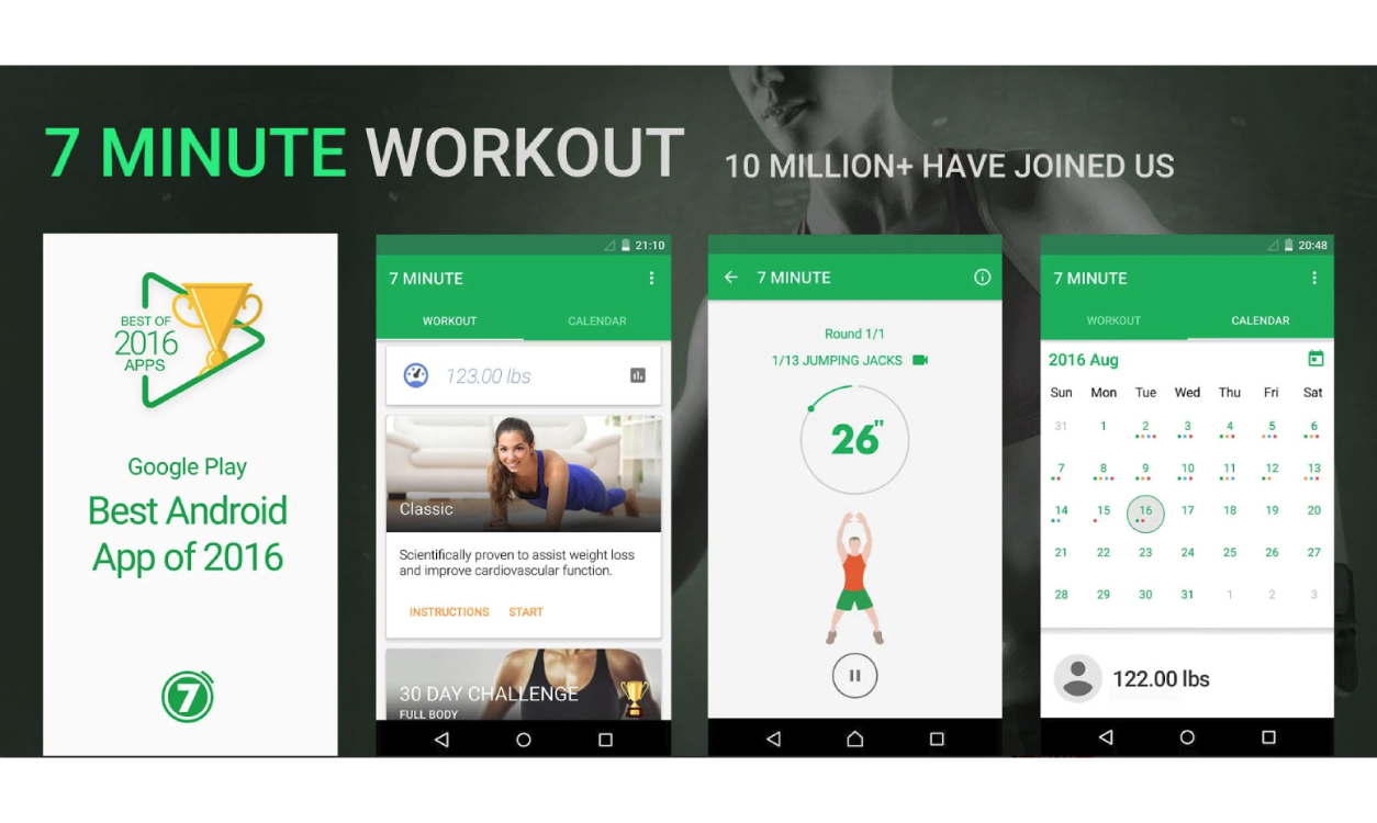 Best Home Workout Apps For Android