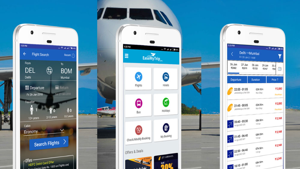 8 Best Flight Booking Android Apps In India « 3nions