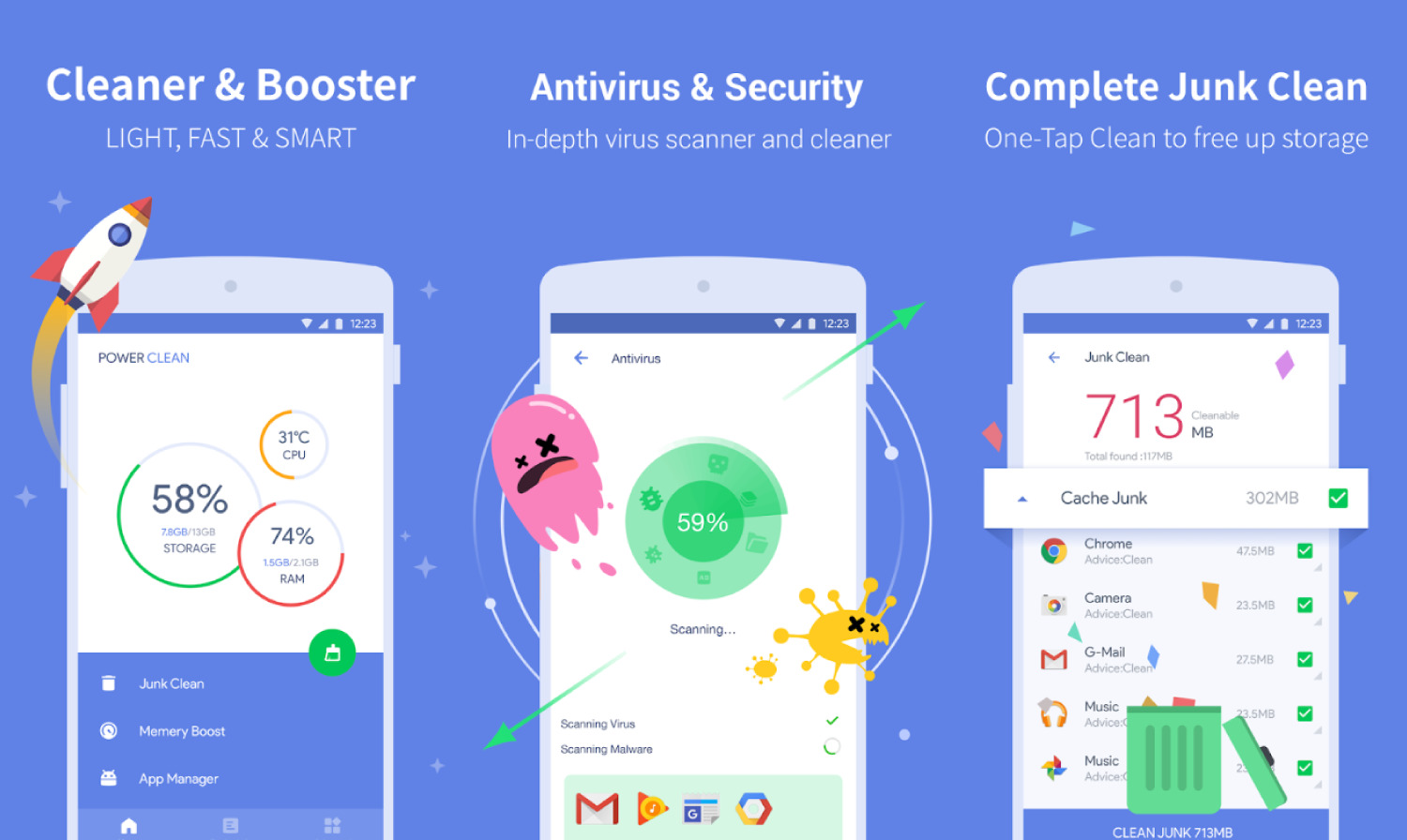 Best Clean up Apps for Android