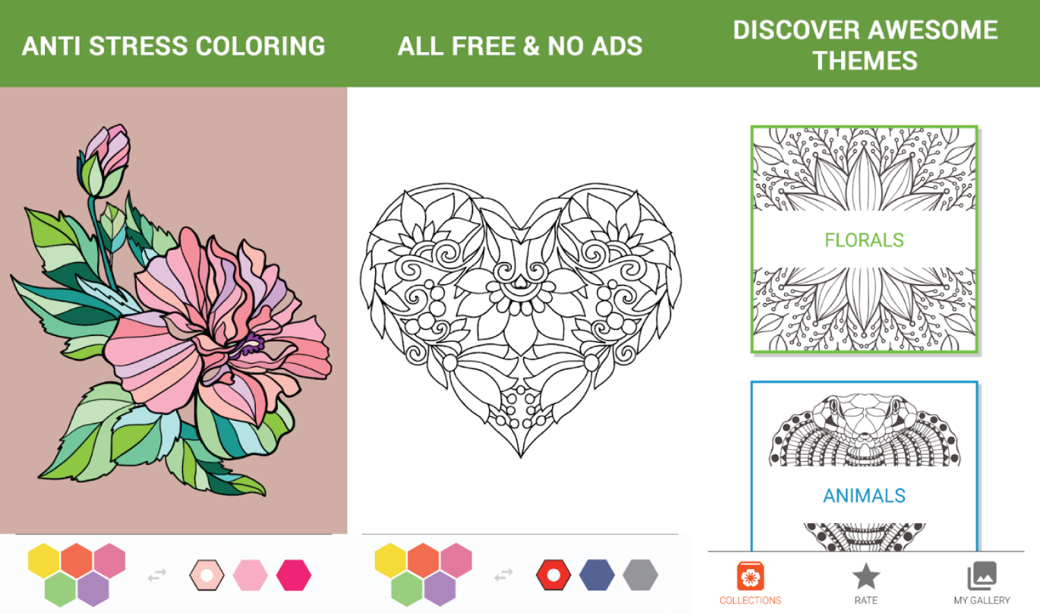7 Best Adult Coloring Book Apps For Android 3nions