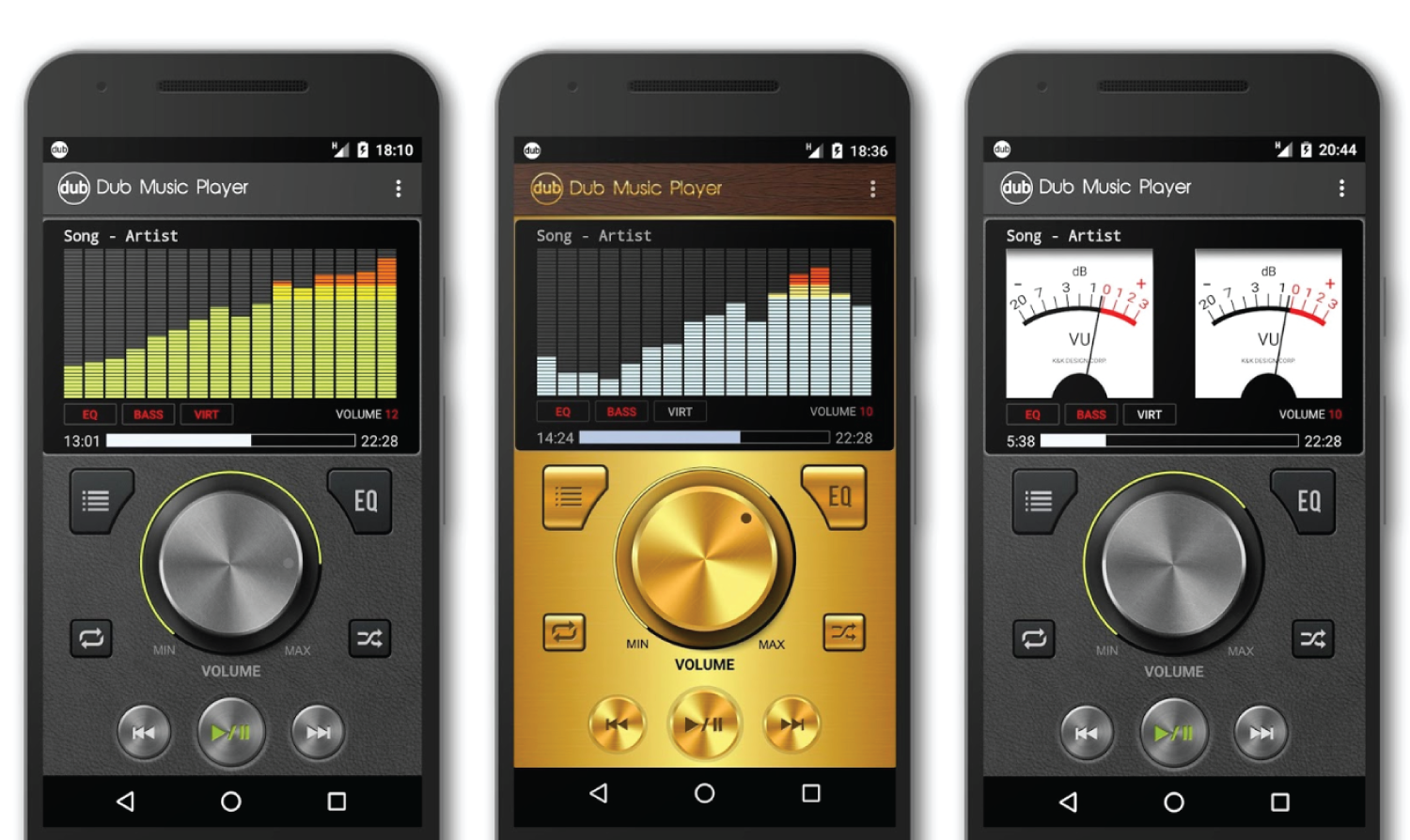 player music android apps dub audio 3nions features main