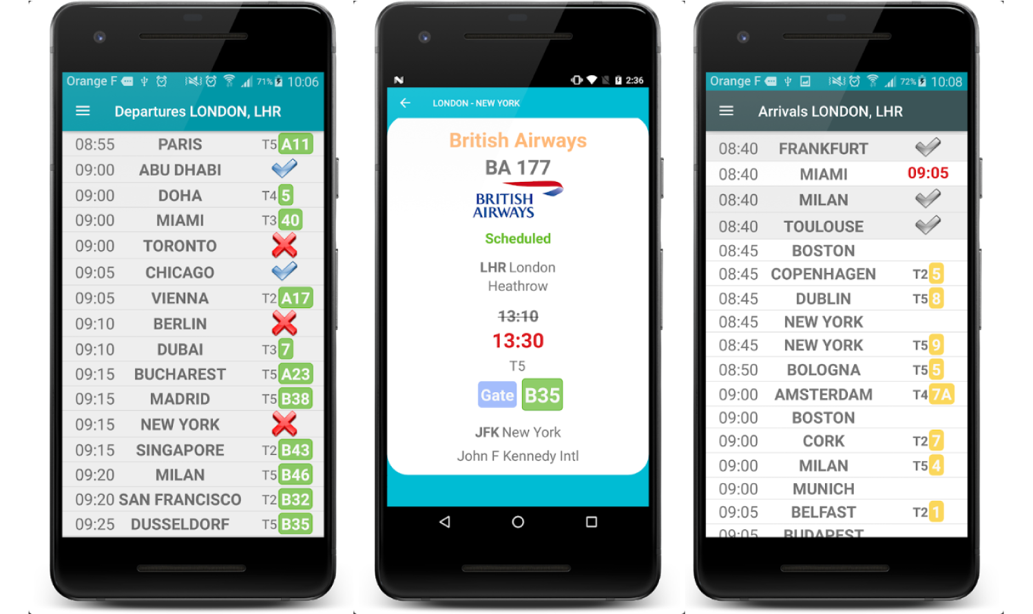 Best Flight Tracking Apps for Android