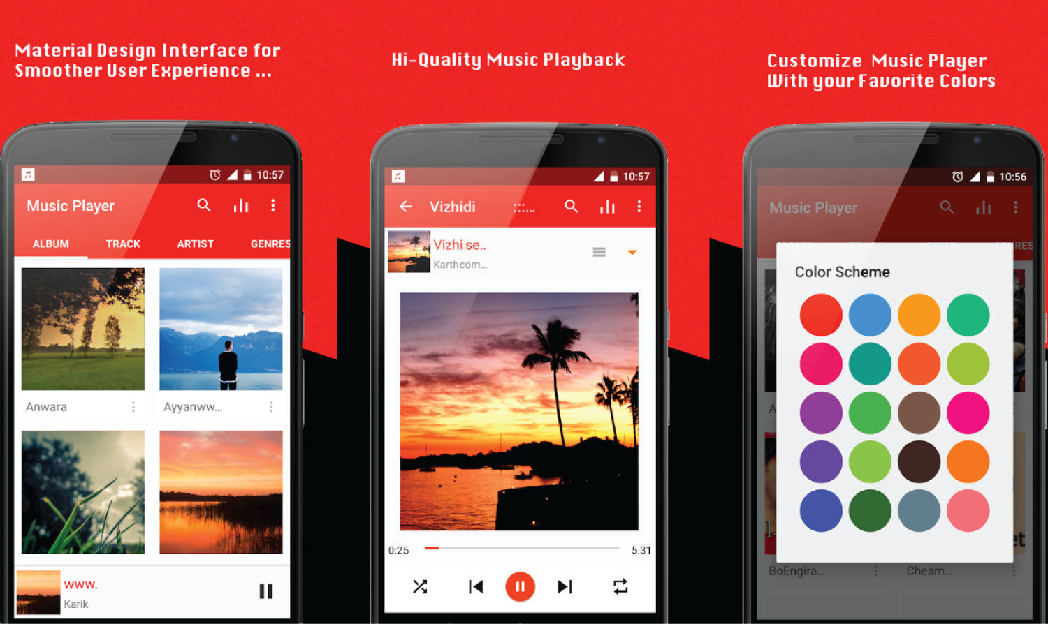 5 Best Music Player Apps for Android « www 3nions com