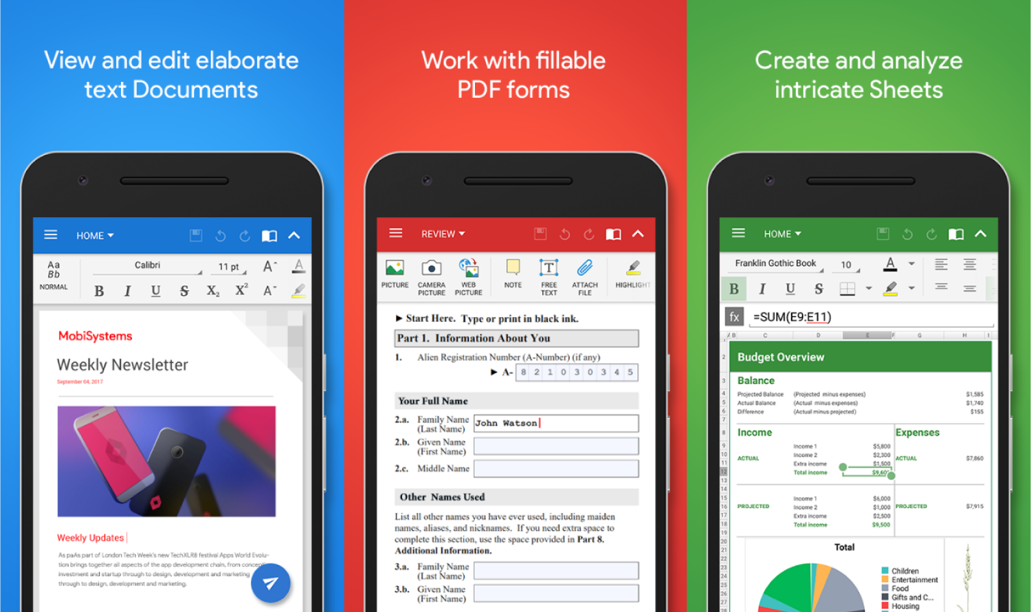 Best Microsoft Office Alternatives for Android