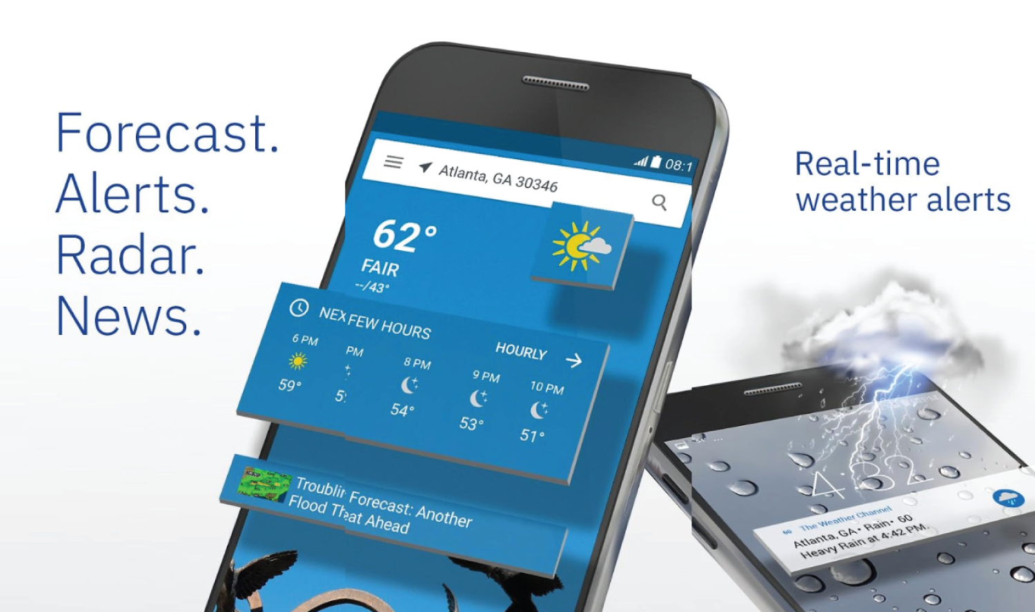 7 Best Weather Apps For Android « www 3nions com