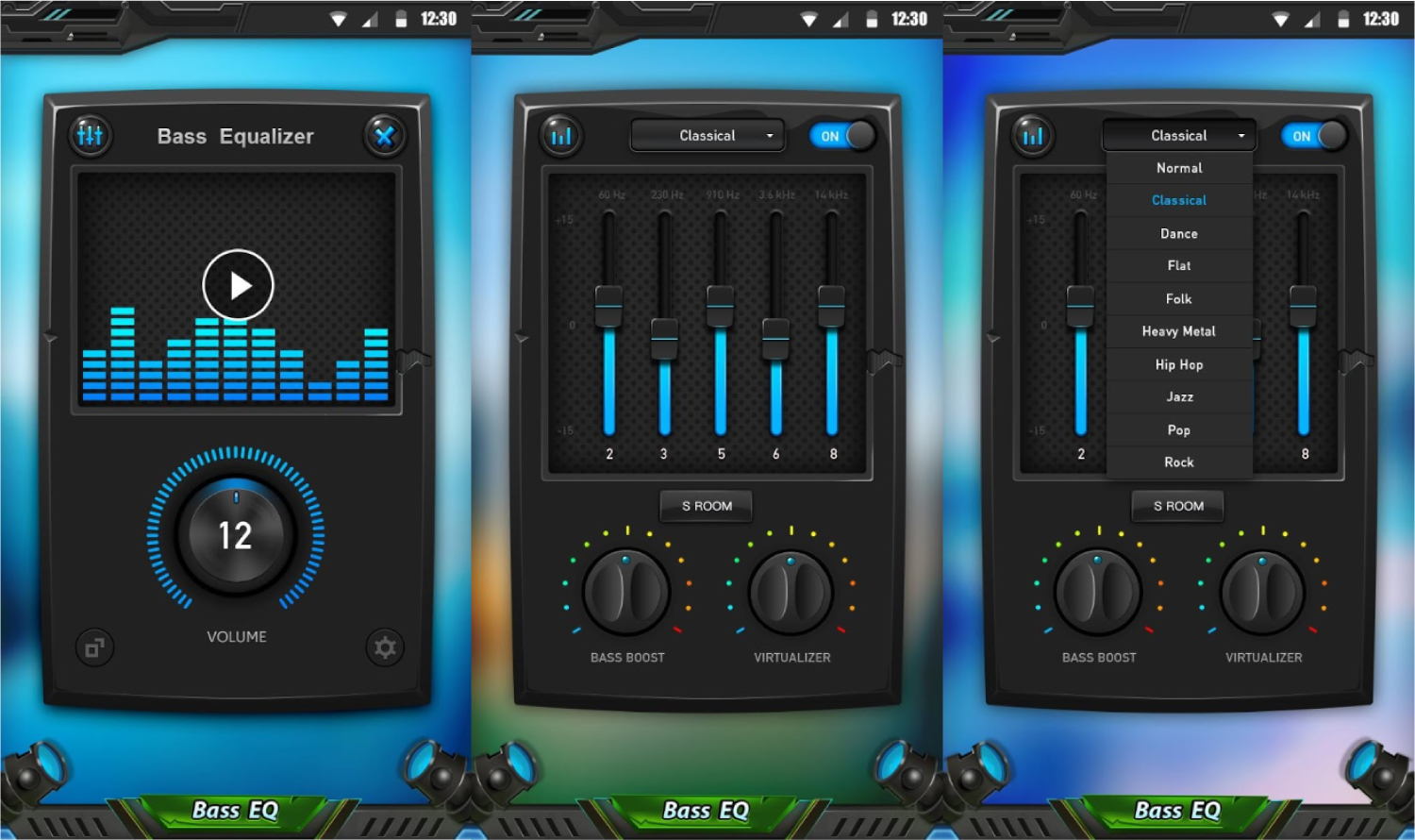 7 Best Equalizer Bass Booster Apps For Android 3nions