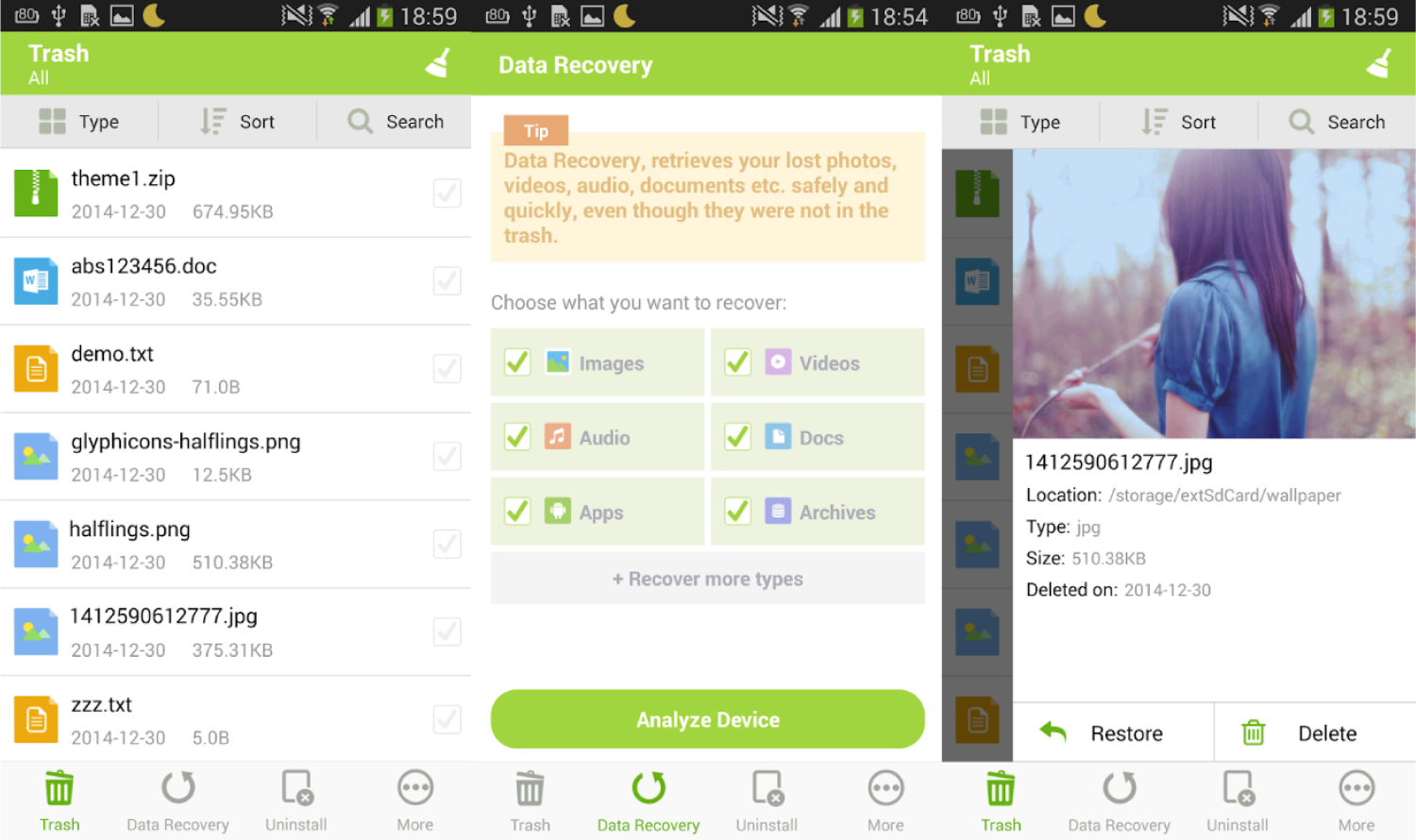 Best Recycle Bin Apps for Android