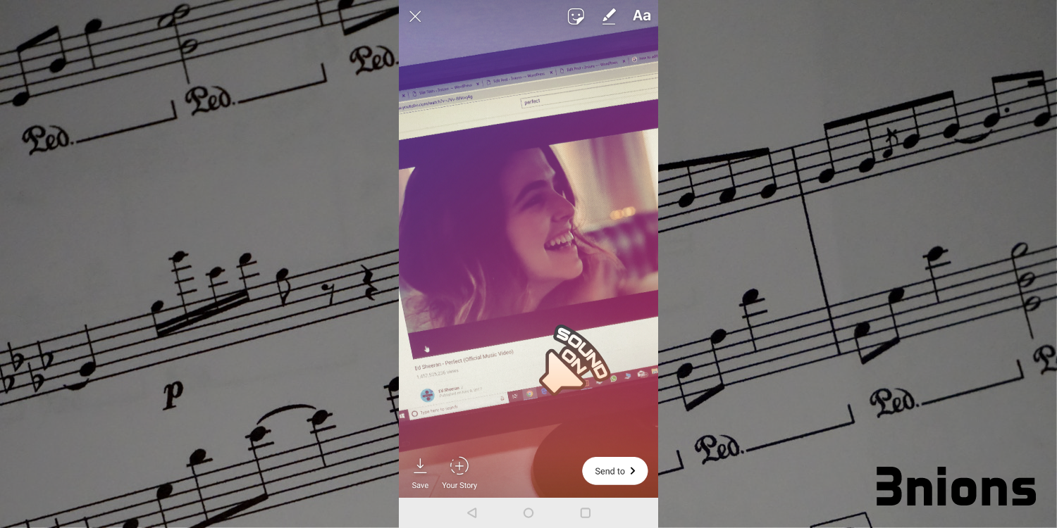 how to add music to instagram story picture