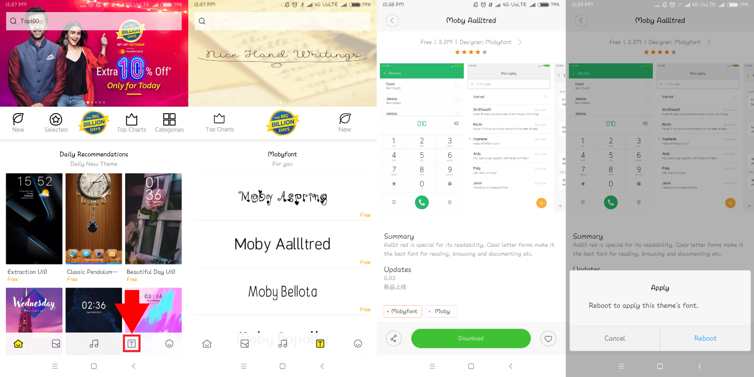 How To Change Font In Redmi Note 5 Pro