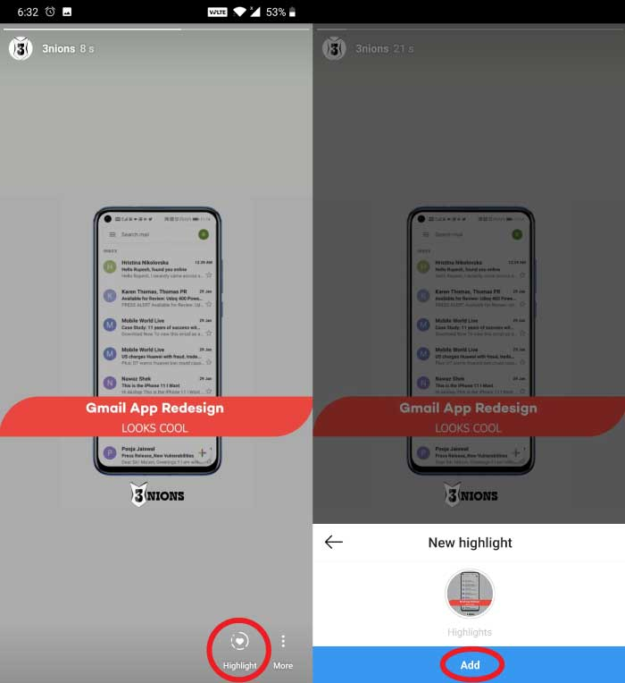 How To Add Story Highlights On Instagram