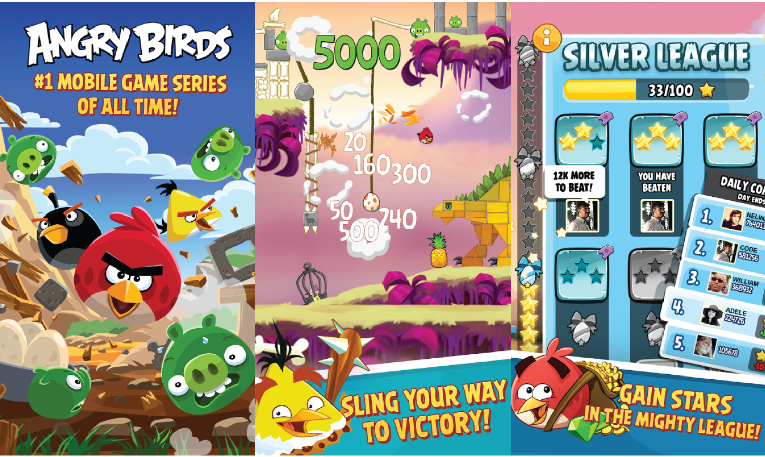 Best Angry Birds Games For Android