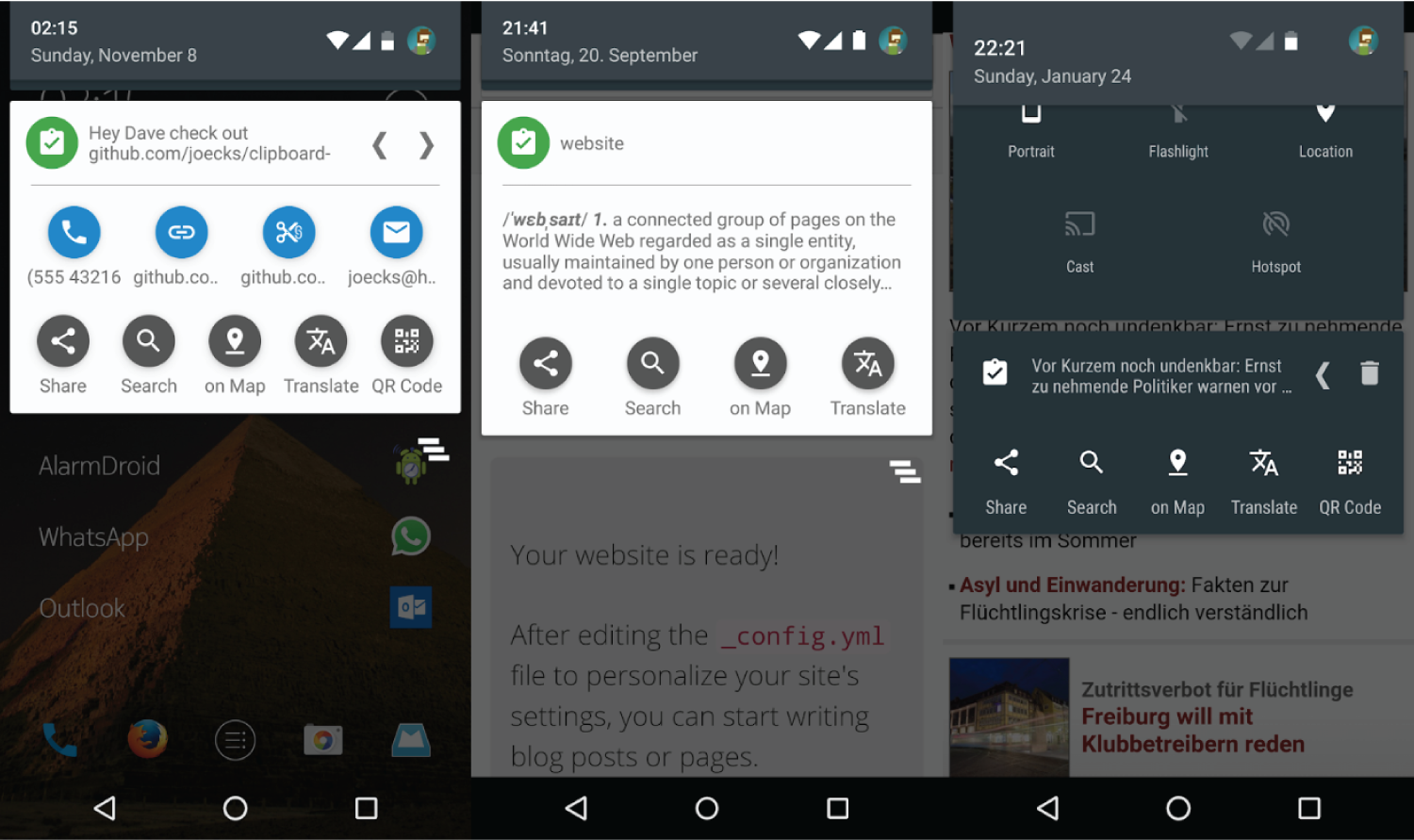 5 Best Clipboard Apps For Android « www 3nions com