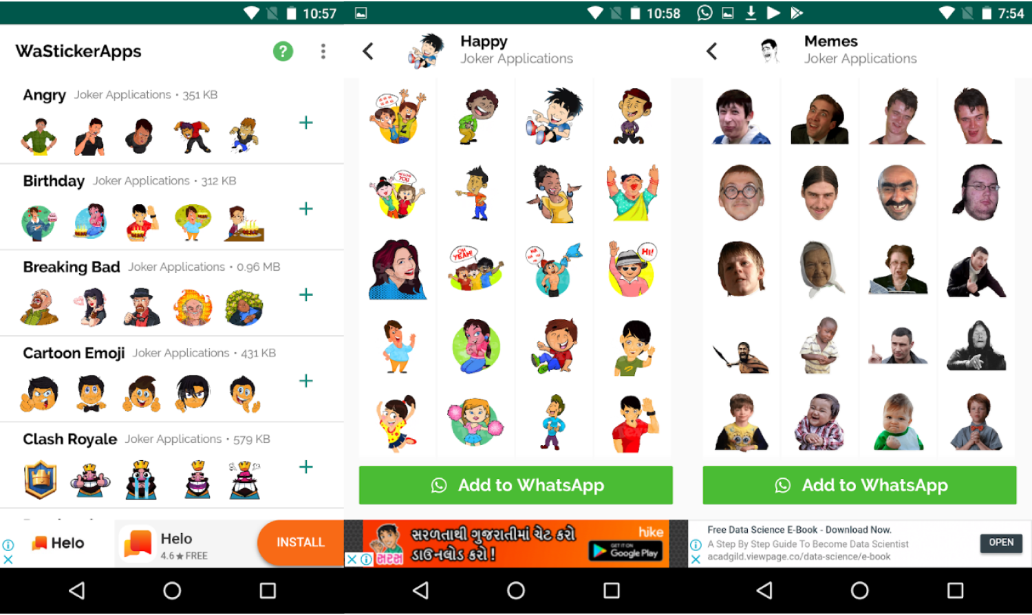 Best Android Sticker Apps for WhatsApp