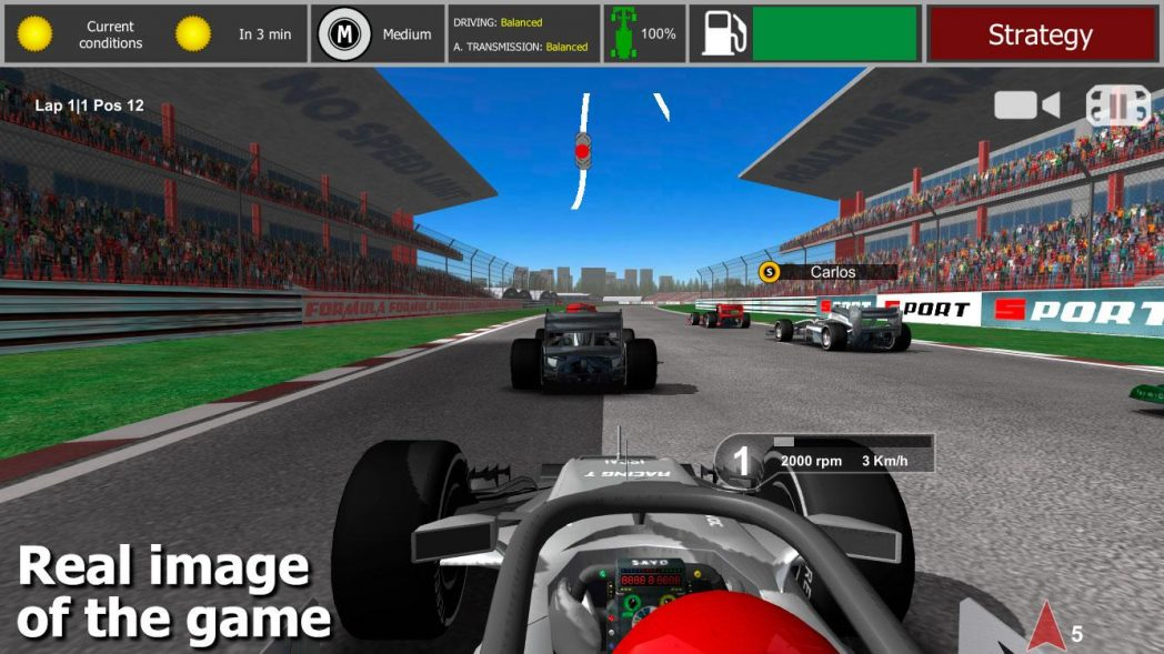 Formula 1 Racing Games For Android
