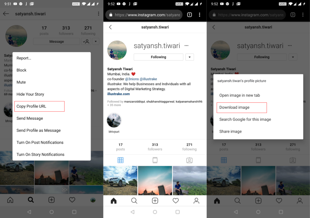 How to Save or View someone else's Instagram Profile Picture