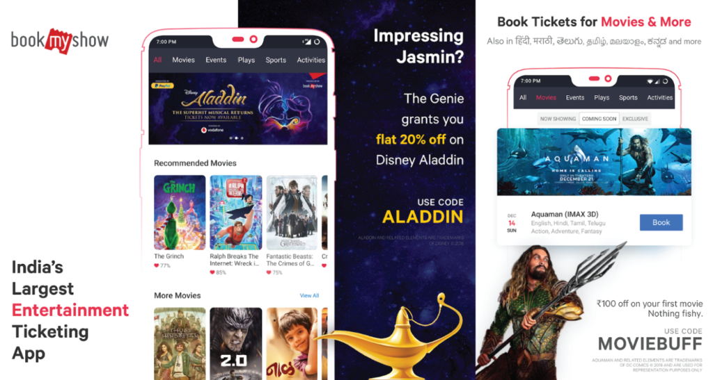 Best Apps to Book Movie Tickets Online in India