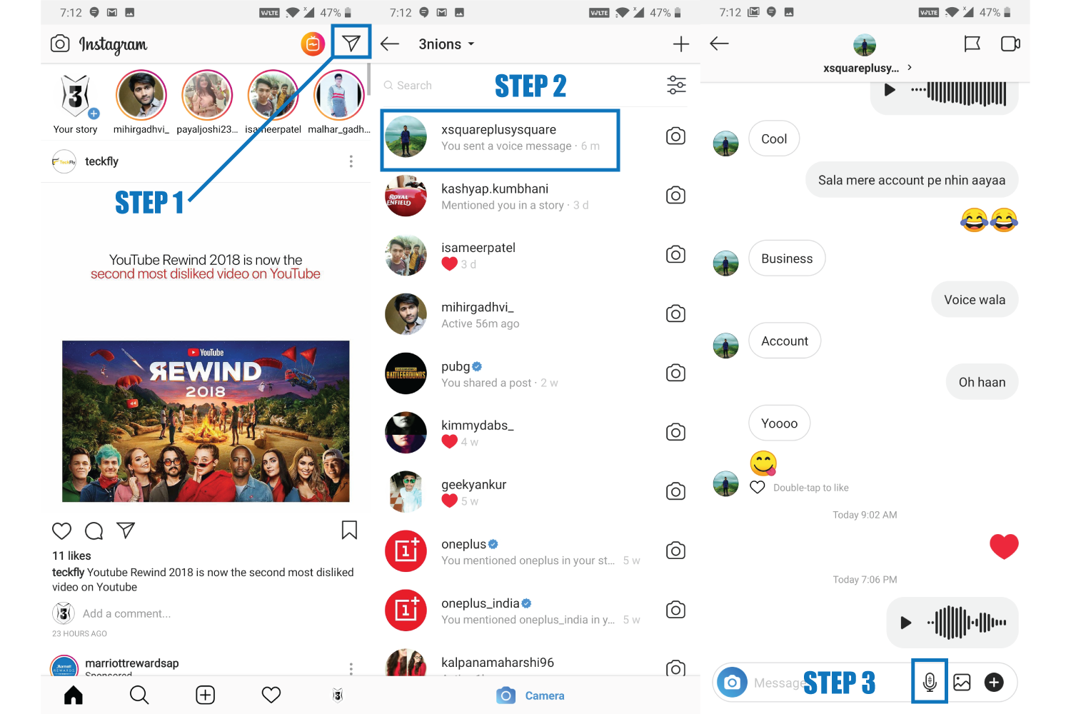 How To Send A Voice Message On Instagram