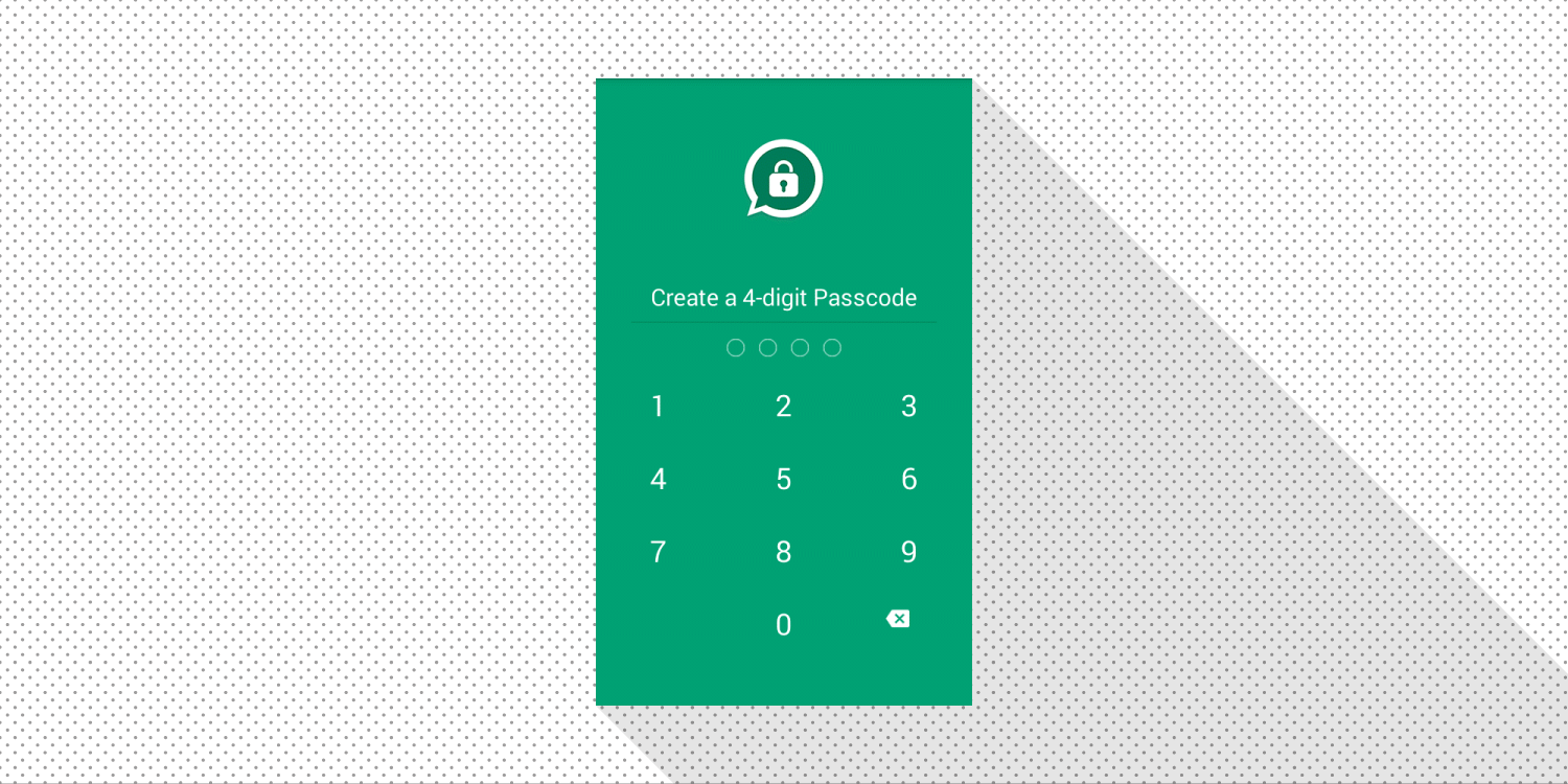 How To set a pin lock on whatsapp