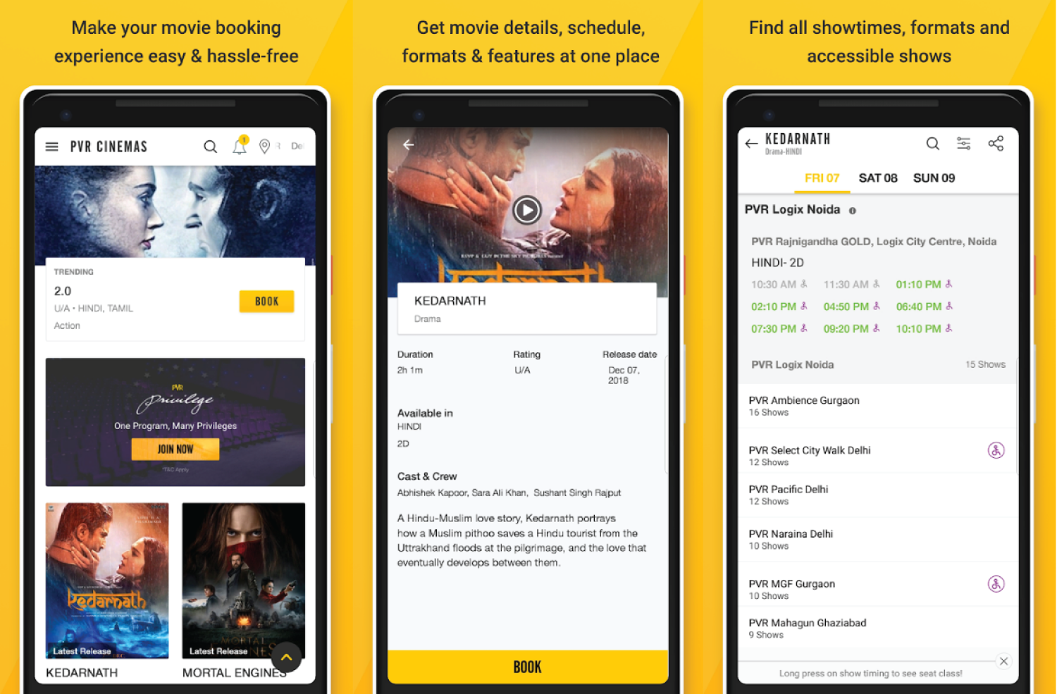 Online Movie Ticket Booking Apps