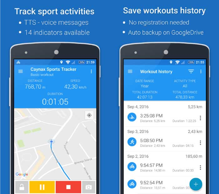 Best Cycling Apps For Android