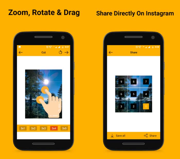 5 Best 9 Cut Instagram Apps for Android « www 3nions com