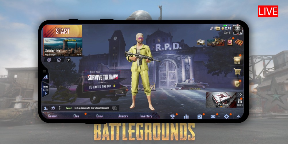 Top 3 Android Apps to Stream PUBG Mobile on Youtube « 3nions