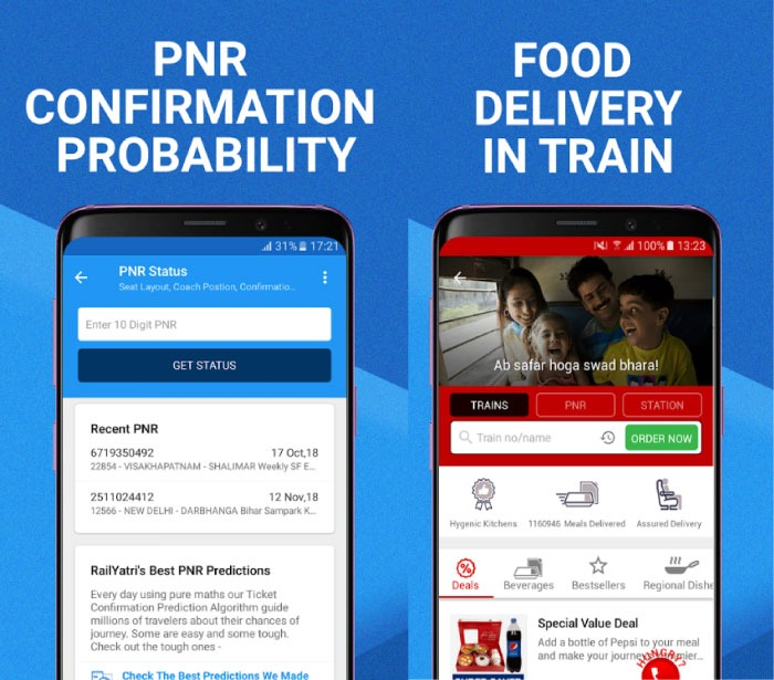 Best Apps For PNR Status and Live Train Status in India
