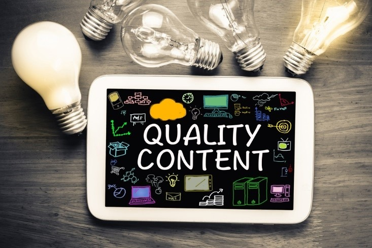 Evaluating Content Quality by Using an Online Tool