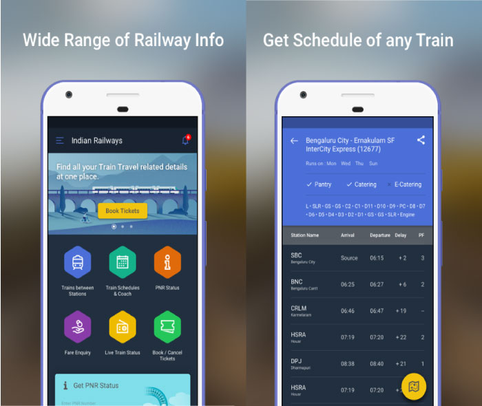 10 Best Apps For PNR Status and Live Train Status in India