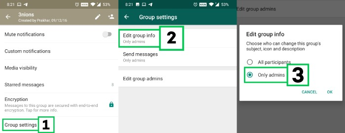 How To Restrict Members In A WhatsApp Group