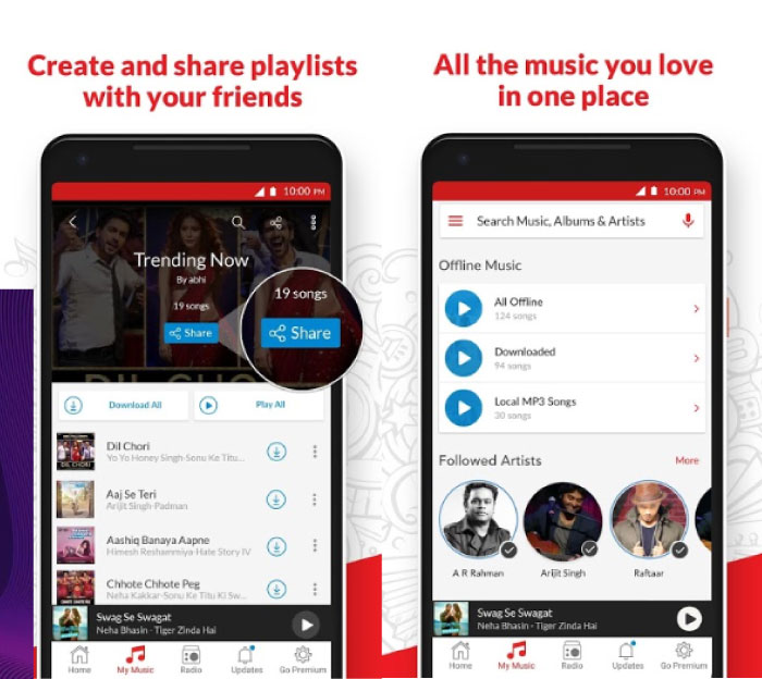 Best Free Offline Music Apps without WiFi