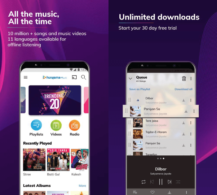 10 Best Music Streaming Apps Available in India For Android