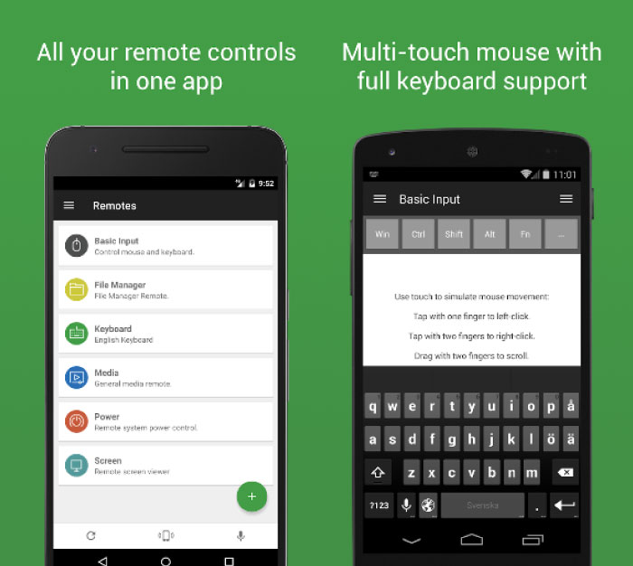 Best Android Apps to turn Your Smartphone into Wireless Mouse