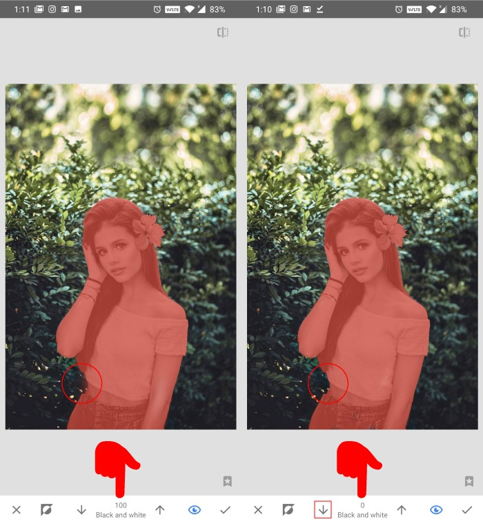 How To Do Color Pop In Snapseed