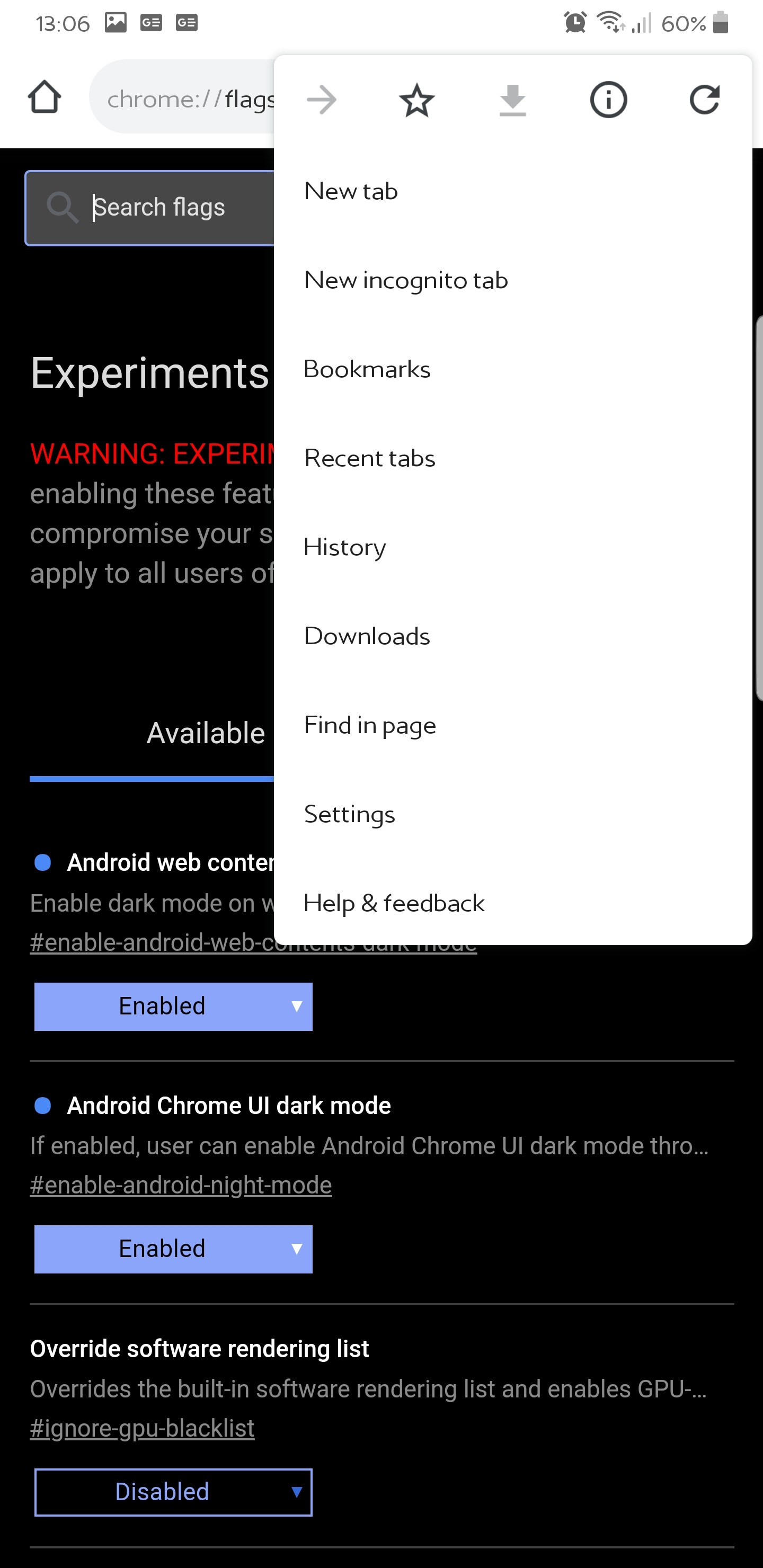 How to Enable Dark Mode on Chrome