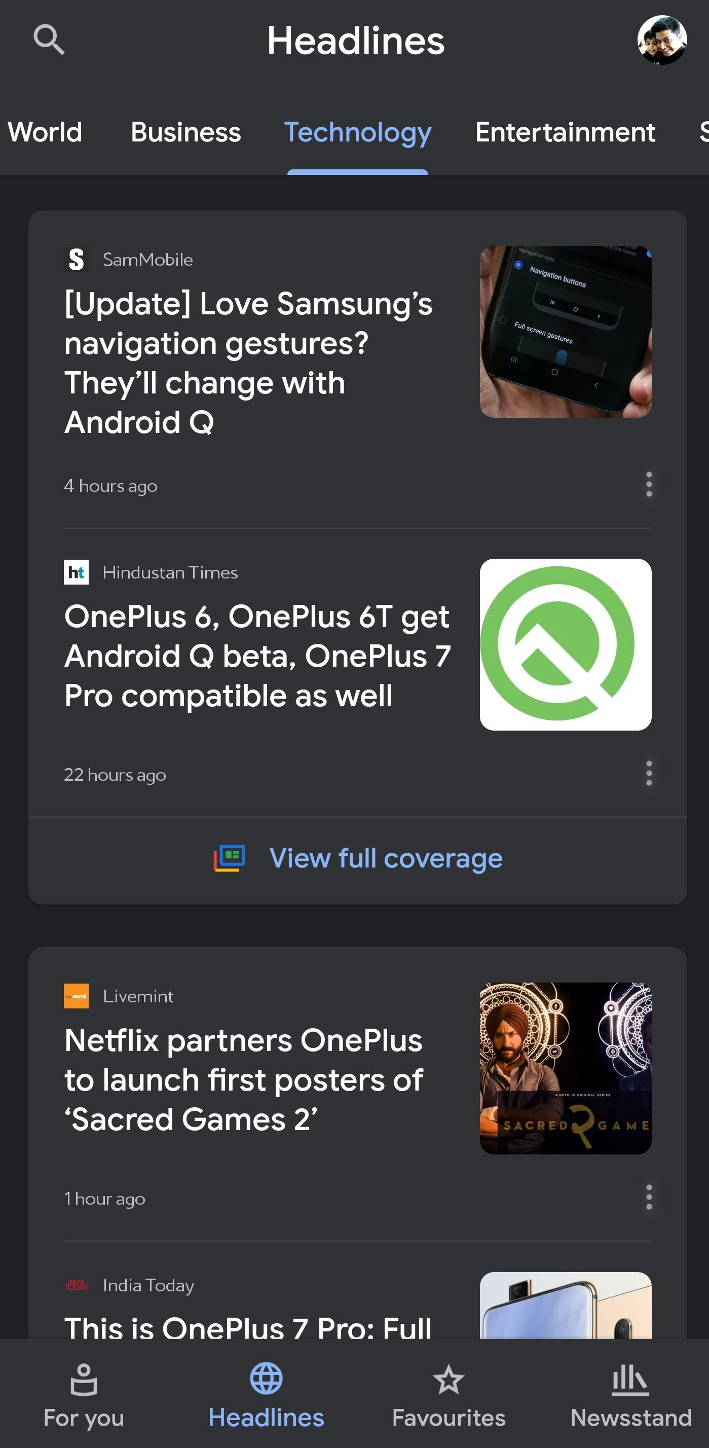 How To Enable Dark Mode On Google News