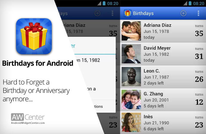 5 Best Birthday Reminder Apps for Android