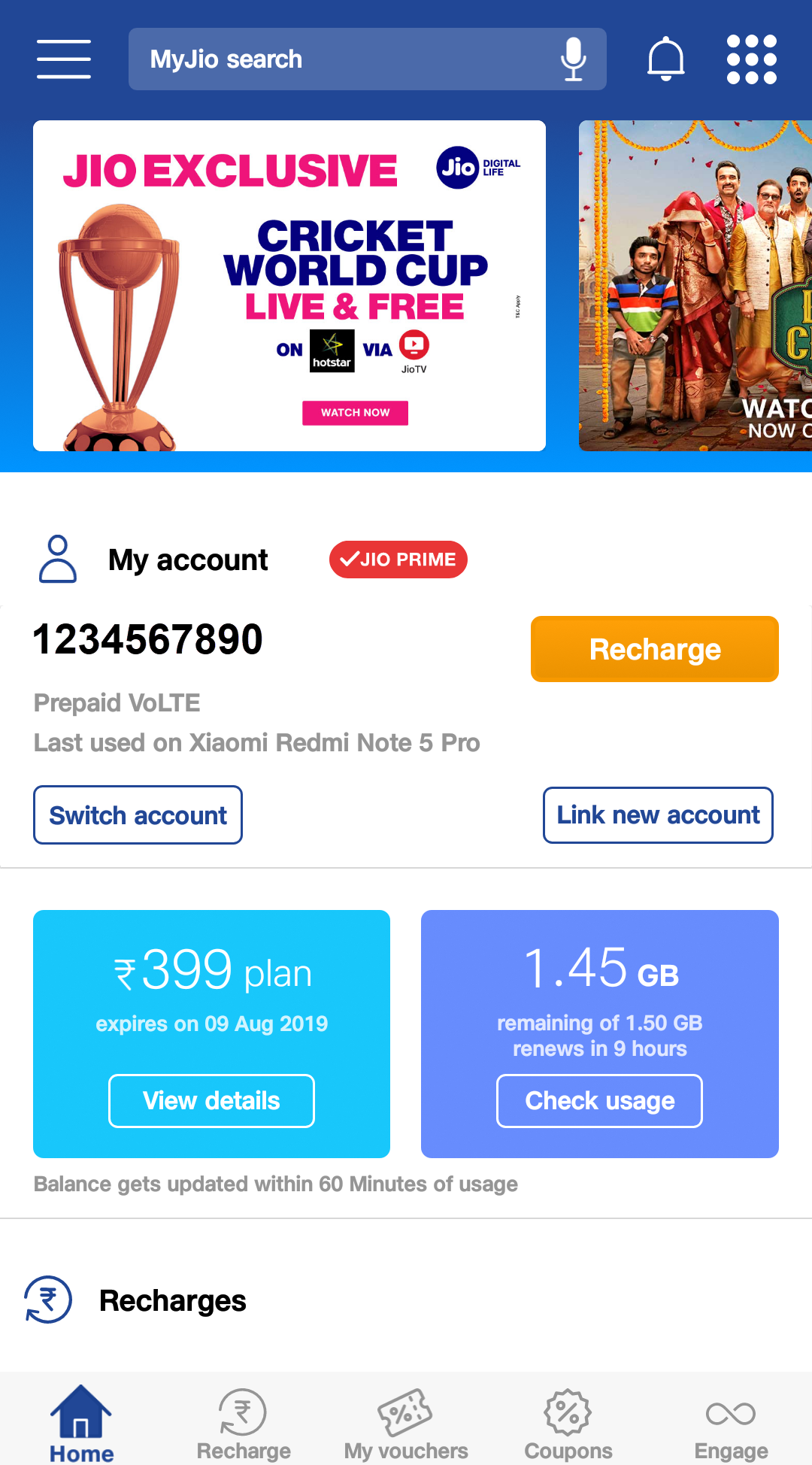 How to Check the Balance in Jio