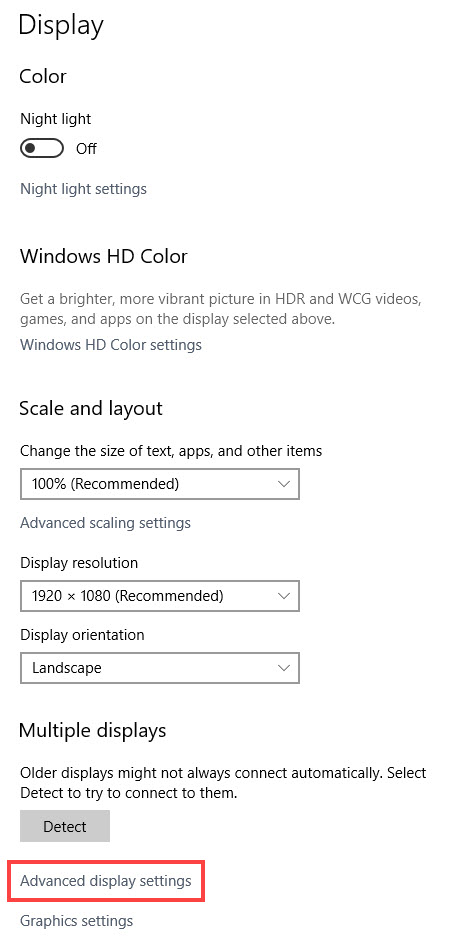 How to Check Graphics Card Memory on Windows 10
