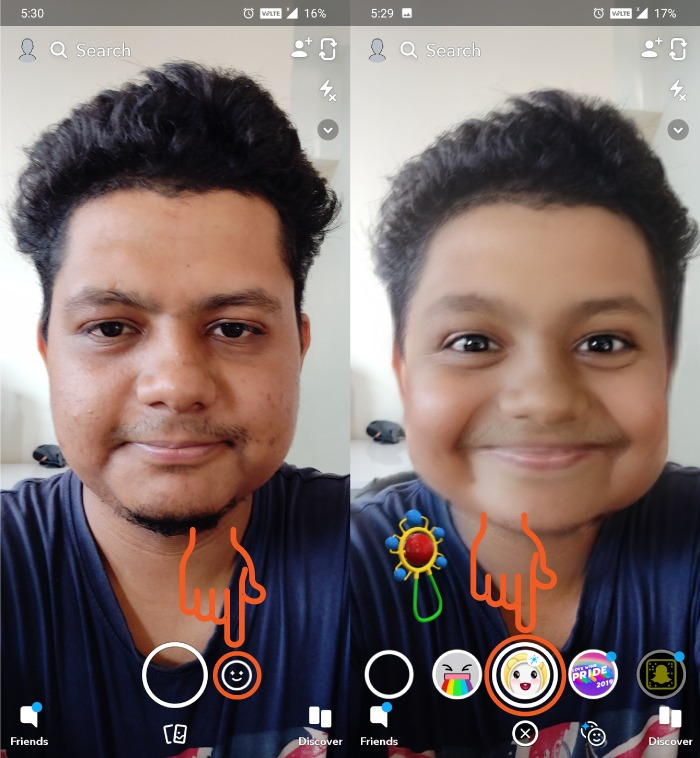 How To Use Baby Filter On Snapchat