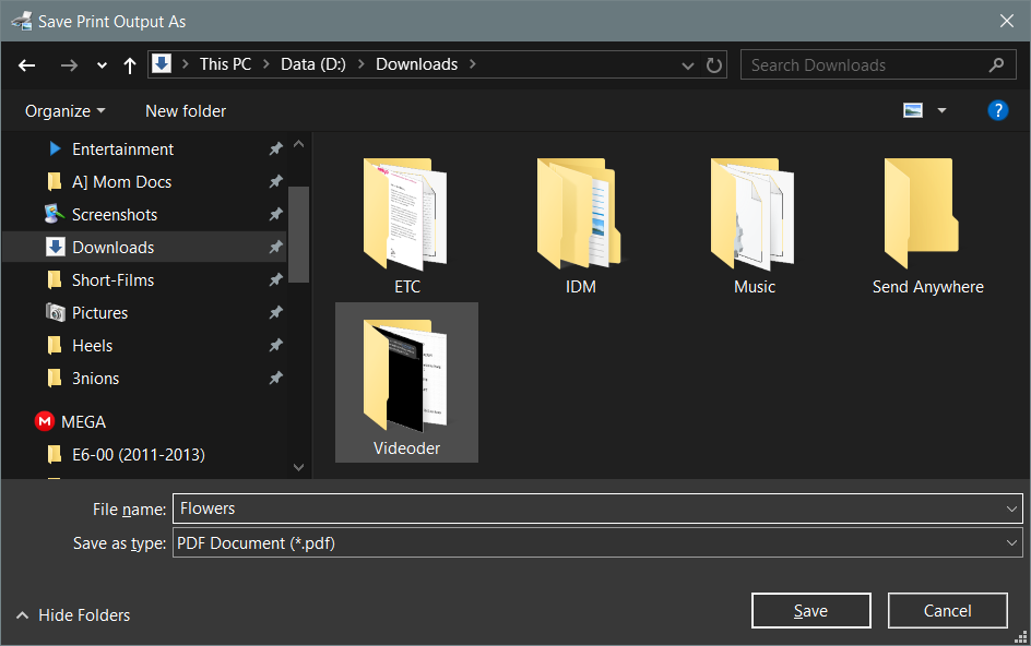 How to convert a JPG into PDF on Windows 10