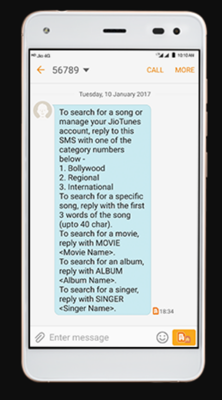 How to Set a Caller Tune in Jio