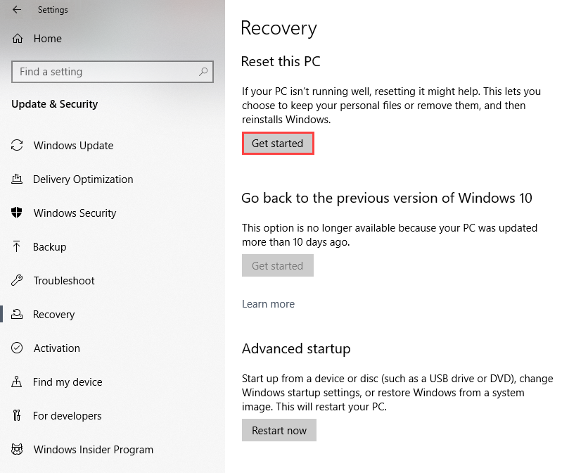 How to Repair Windows 10 without Losing Data