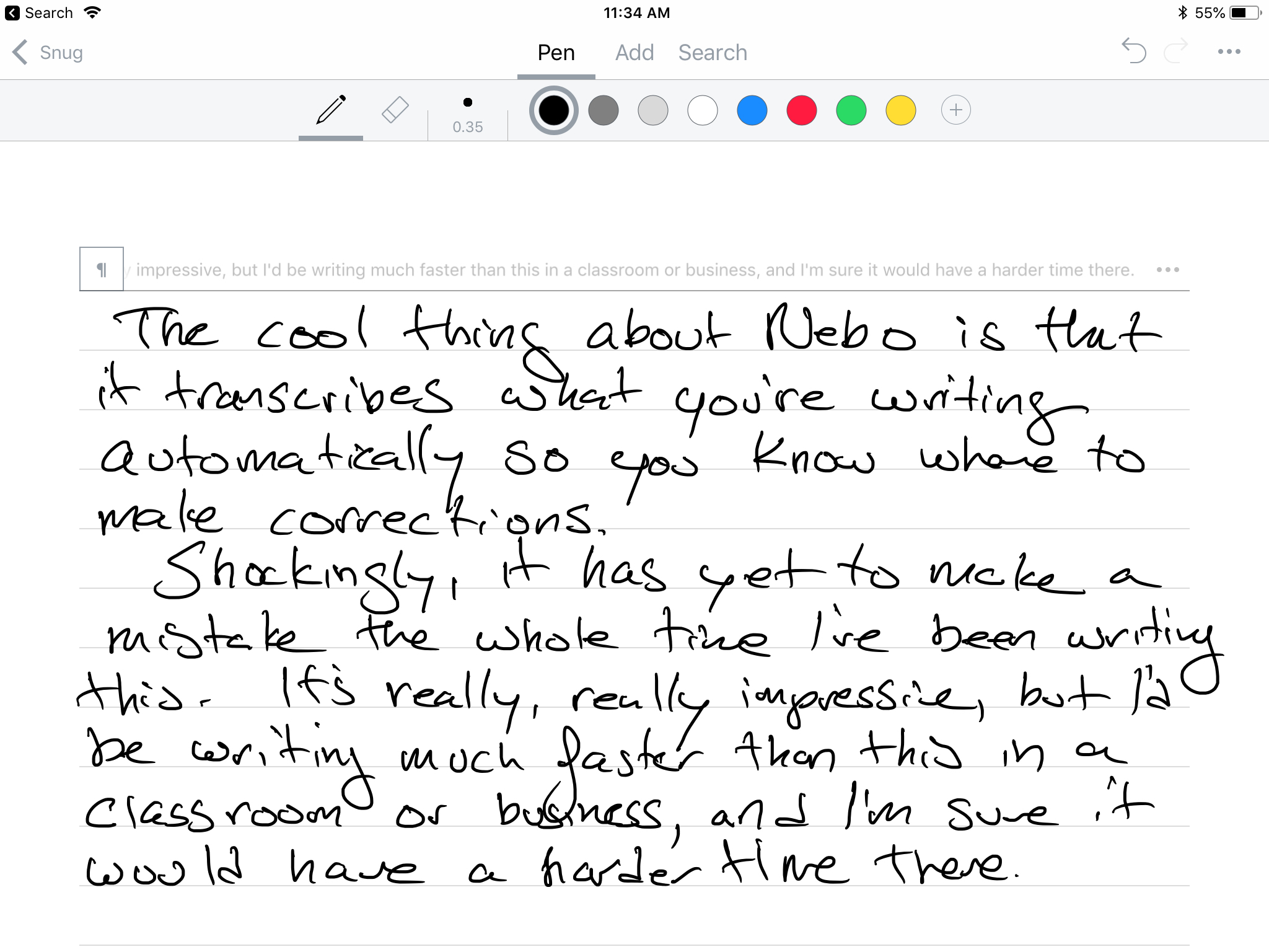 How to Take Handwritten Notes on iPad using the Apple Pencil
