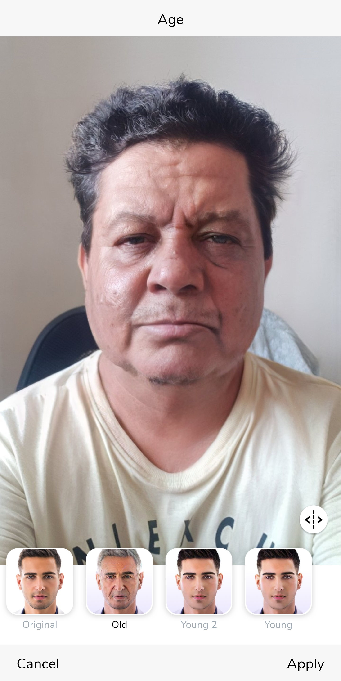 How to Get Old Age Filter