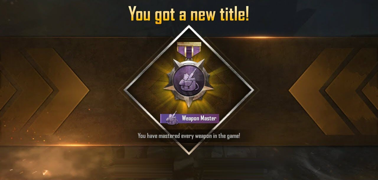 How to Get a Weapon Master Tag in PUBG Mobile