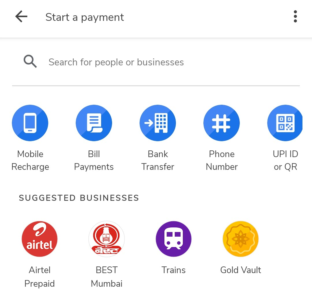 How to Make a Bank Transfer in Google Pay