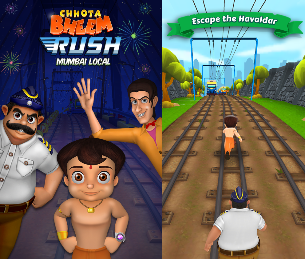 Best Chhota Bheem Games for Android